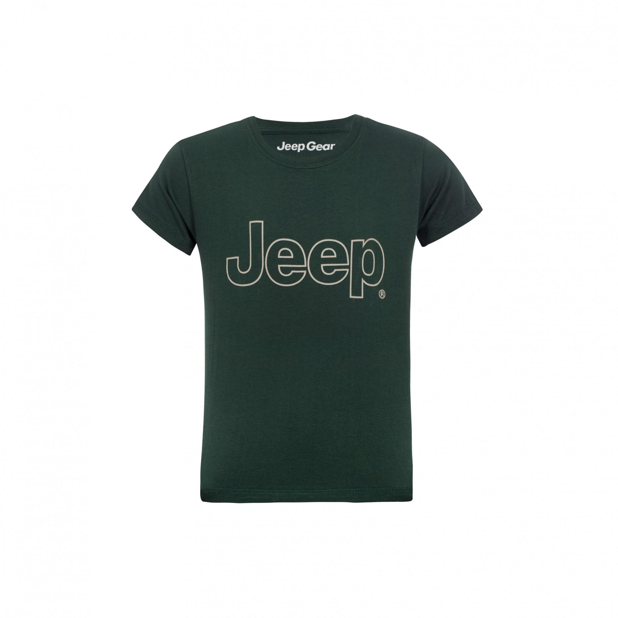 Camiseta Inf. Jeep Clássica - Verde Militar