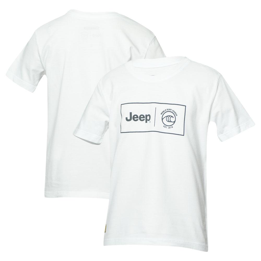 Camiseta Inf. JEEP I WSL Box Collab - Branco