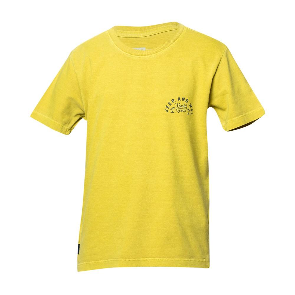 Camiseta Inf. JEEP I WSL World Tour - Amarela