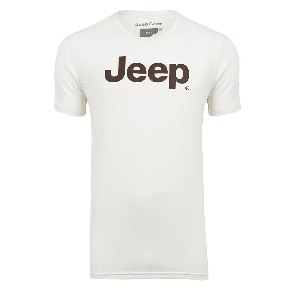 Camiseta Jeep Clássica - OffWhite