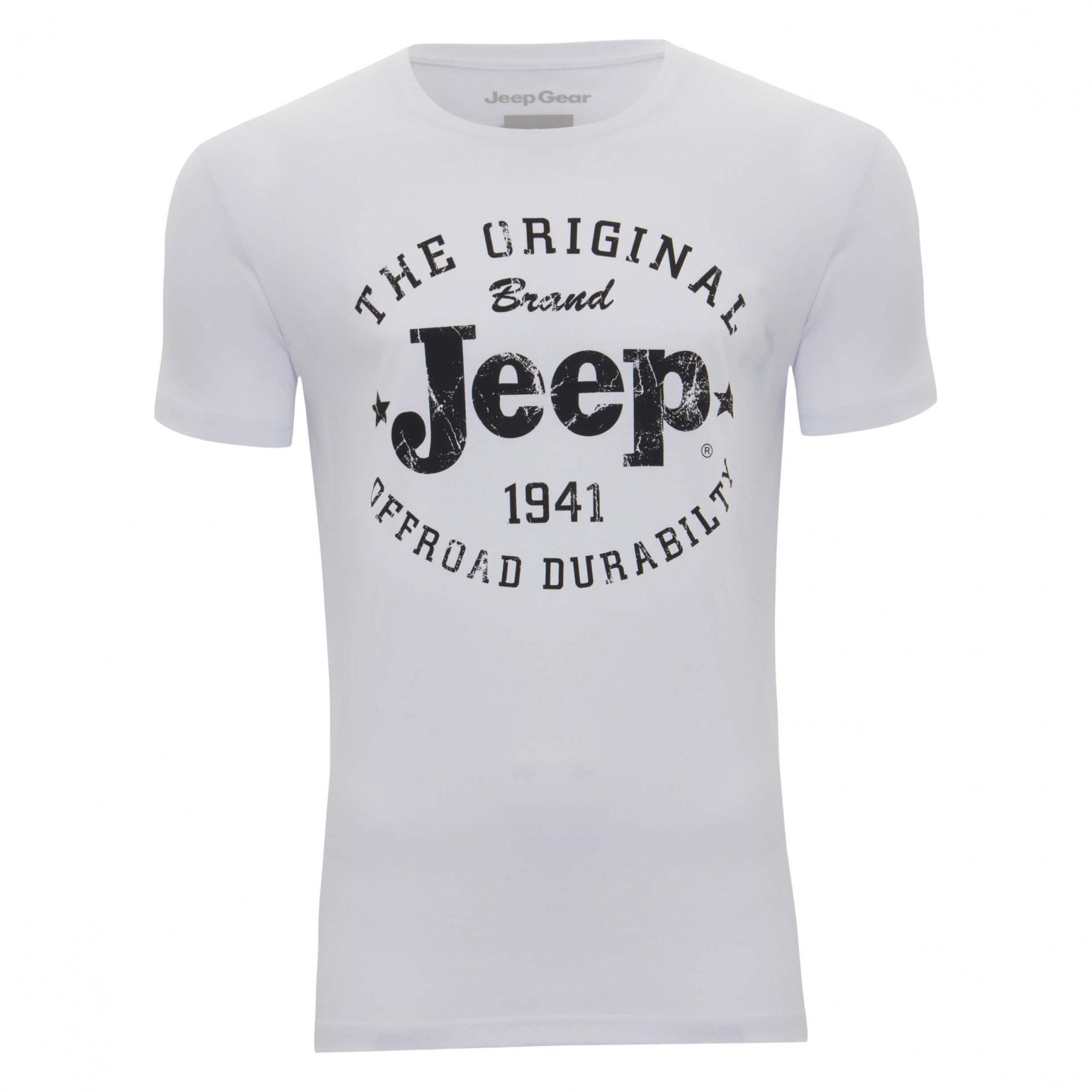 Camiseta Jeep The Original Branca