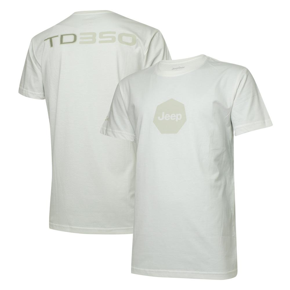 Camiseta Masc. DTG JEEP Compass TD350 4x4 - Off White