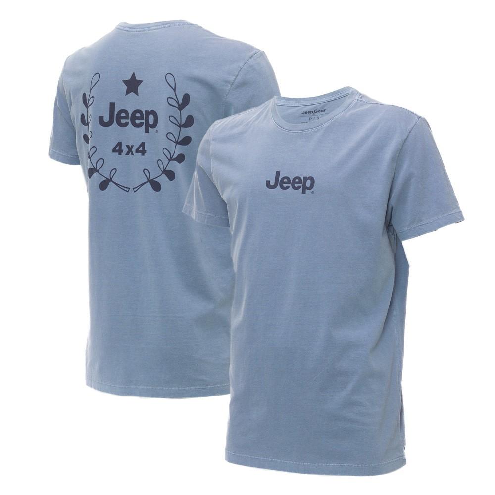 Camiseta Masc. JEEP Prize Estonada Azul