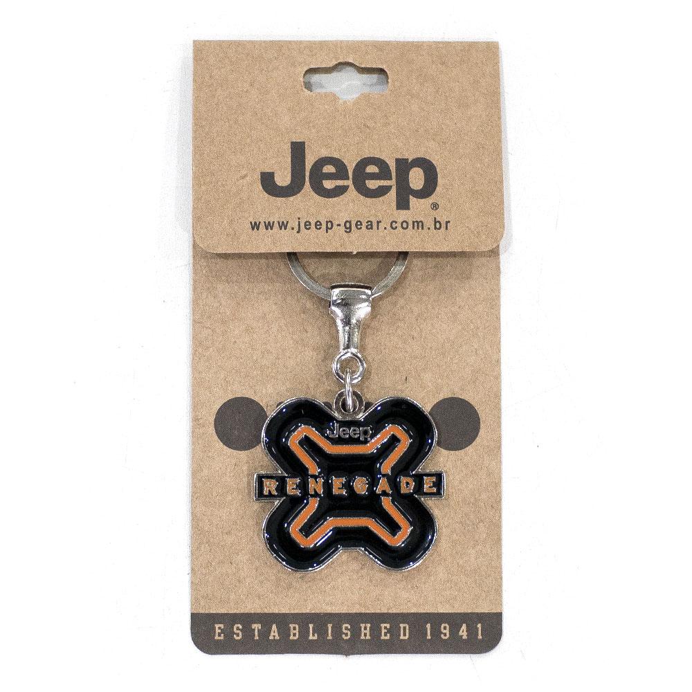 Chaveiro Jeep Renegade Preto