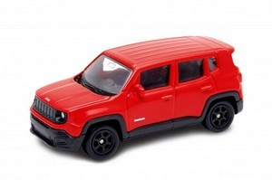 Miniatura Jeep Renegade Mini 1:60 - Laranja
