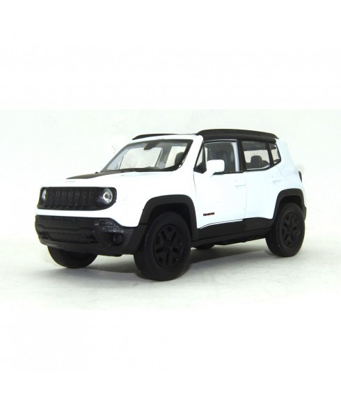 Miniatura Jeep Renegade Trailhawk 1:32 Welly - Branco