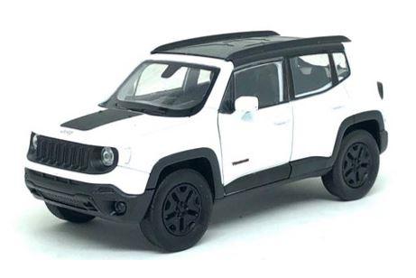 Miniatura Jeep Renegade Trailhawk - 1:34 - Branco