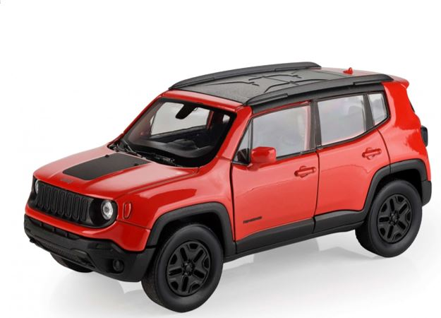 Miniatura Jeep Renegade Trailhawk - 1:34 - Laranja