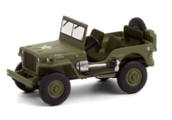 Miniatura JEEP Willys 1942 HS - 1:64 - Verde Militar