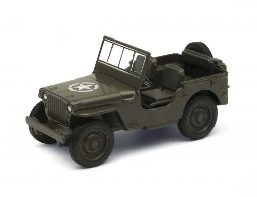 Miniatura Jeep Willys 4.5