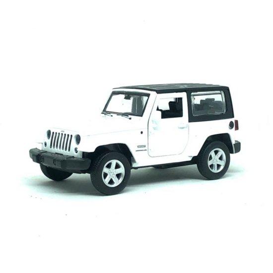 Miniatura JEEP Wrangler Junior 1:42 - Branco