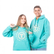 MOLETOM UNISSEX TATANKA CLOTHES VERDE MLT103