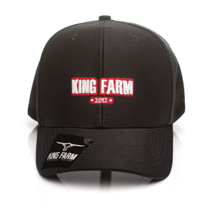 BONÉ KING FARM PRETO 25-03