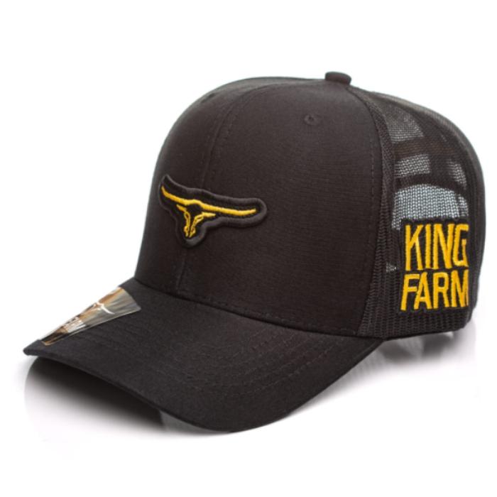 BONÉ KING FARM PRETO 31-03