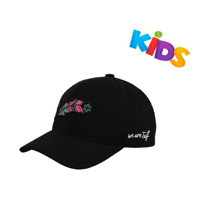 BONÉ TUFF PRETO FEATHER PINK KIDS - INFANTIL