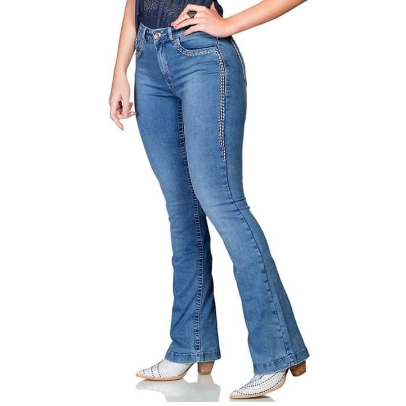 CALÇA JEANS BUPHALLOS JEANS BOOT CUT IN20