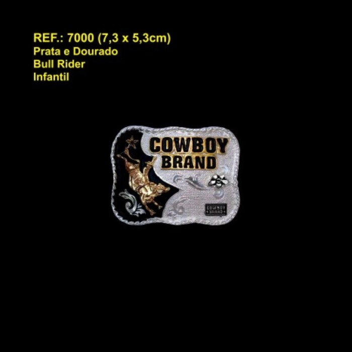 FIVELA INFANTIL COWBOY BRAND BULL RIDER 7000