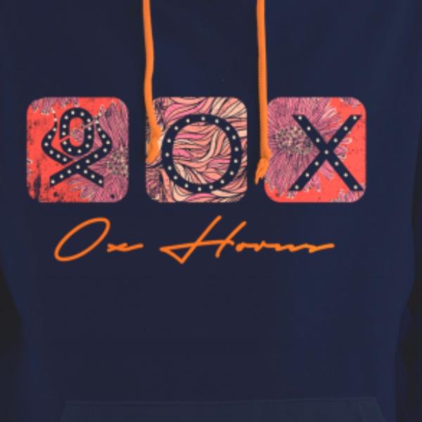 MOLETOM FEMININO OX HORNS AZUL MARINHO 4085
