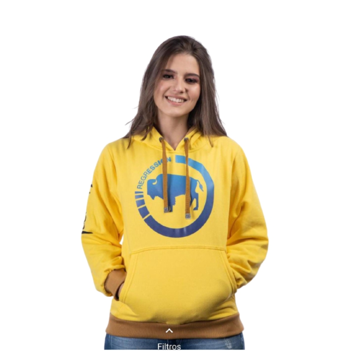 MOLETOM TATANKA CLOTHES AMARELO TTK132
