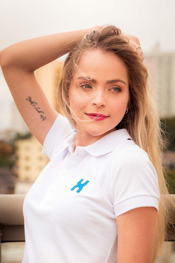 POLO FEMININA TXC BRANCA 27011