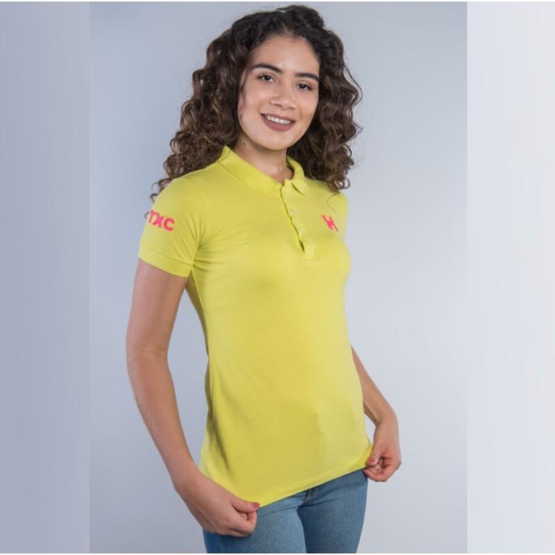 POLO FEMININA TXC VERDE 27038