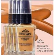 BASE SILICONE MATTE COM ALTA COBERTURA Miss Lary-cor 01