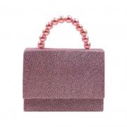 Bolsa Infantil de Glitter - Rosa Claro