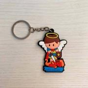 Chaveiro Borracha Religioso São Miguel