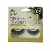 CÍLIOS POSTIÇOS SABLE FALSE EYELASHES MINK 3D Miss Frandy -C18-1208