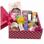 Kit de Maquiagem e Skin Care com Caixa para Presente 01