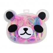 Kit Elásticos Para Cabelo Panda 01