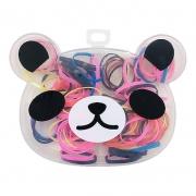 Kit Elásticos Para Cabelo Panda 02