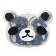 Kit Elásticos Para Cabelo Panda 03