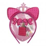 Kit Para Cabelo Princess Pink
