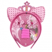 Kit Para Cabelo Princess Rosa