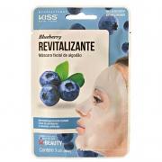 Máscara Facial Revitalizante Blueberry Ruby Kiss