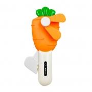 Mini Ventilador Portátil Manual Cenoura