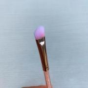 Miss Frandy Pincel Para Aplicar E Esfumar Sombra Linha Rosé Com Cristais Pm15-1210
