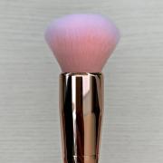 Miss Frandy Pincel Topo Arredondado Linha Rosé Com Cristais Pm15-1268