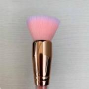 Miss Frandy Pincel Topo Reto Linha Rosé Com Cristais Pm15-1266