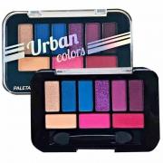 Paleta De Sombras 9 Cores Urban Colors City Girls B