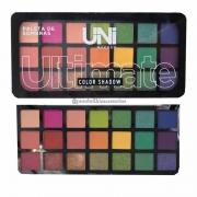 Paleta De Sombras Ultimate Color Shandow Uni Makeup