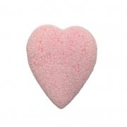 Real Love Esponja Esfoliadora Coração Com Encaixe Para Os Dedos Rosa Claro