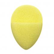 Real Love Esponja Esfoliadora Gota Com Encaixe Para Os Dedos Amarela