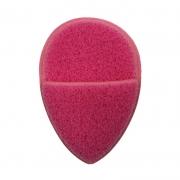 Real Love Esponja Esfoliadora Gota Com Encaixe Para Os Dedos Pink