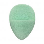 Real Love Esponja Esfoliadora Gota Com Encaixe Para Os Dedos Verde Acqua