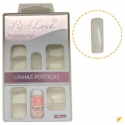 Real Love Unhas Postiças Un12j