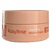 Ruby Rose Máscara Capilar Argila Rosa 200g