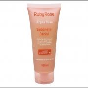 Ruby Rose Sabonete Facial Argila Rosa