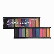 SP Colors PALETA DE SOMBRAS OBSESSION SHADOW PALETTE B